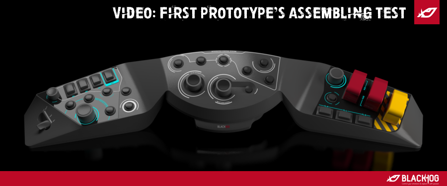 Video: First prototype's assembling test